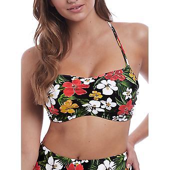 Tiki Bar Concealed Bralette Bikini Top