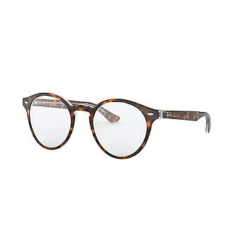 Ray-Ban RB5376 5082 Top Havanna auf transparente Brille