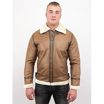 Lammy Coat - Shearling Jacket - Brown