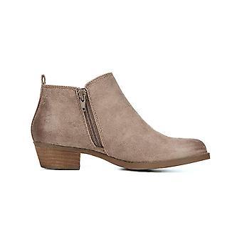Carlos by Carlos Santana Womens Brie Fabric Almond Toe Ankle Fashion Boots
