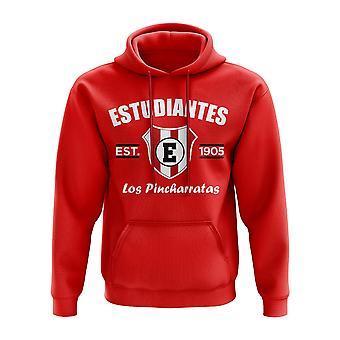 Estudiantes de La Plata Established Hoody (Red)