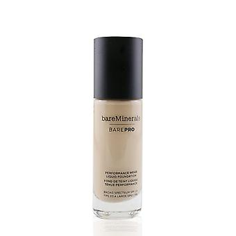 Bareminerals Barepro Performance Wear Liquid Foundation Spf20 - 9,5 Flax - 30ml/1oz