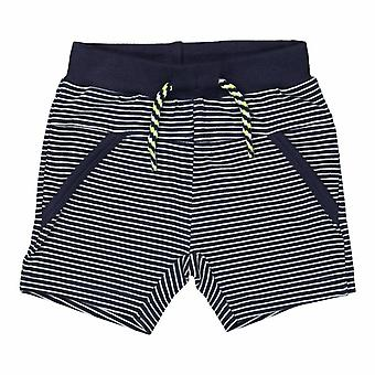 Dirkje Boys Short Navy Stripe