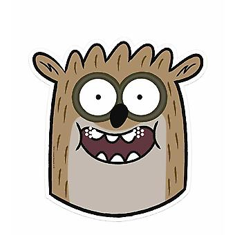 Rigby - Regular Show Single Card Party Fancy Dress Mask