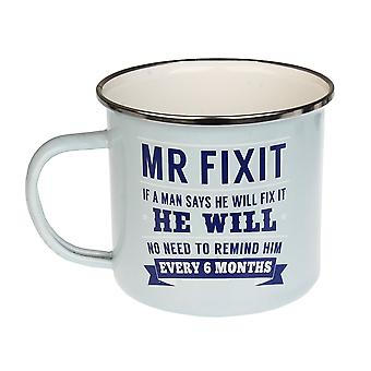 History & Heraldry Mr Fix It Tin Mug 22