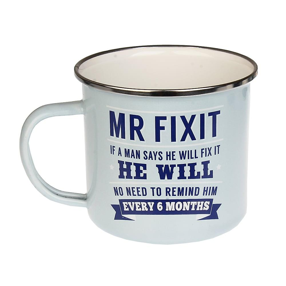 History & Heraldry Mr Fix It Tin Mug 22