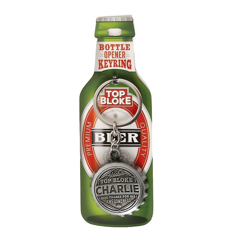 History & Heraldry Keyring - Charlie Bottle Opener