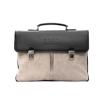 Briefcase gray Rich John Richmond man