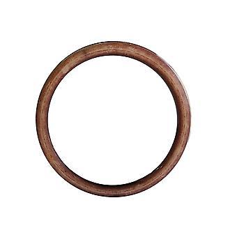 45mm braun O Ringe, Acryl Jump Ring
