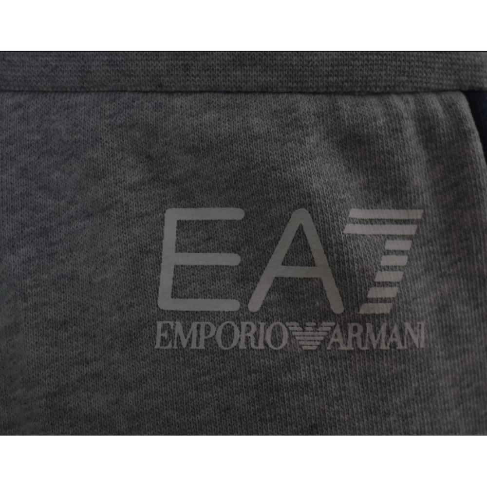 EA7 EA7 ragazzi bambini tuta grigia e Blu Navy