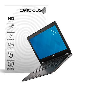 Celicious Vivid Invisible Glossy HD Screen Protector Film Compatible with Dell Latitude 12 E7270 (Touch) [Pack of 2]