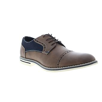 Unlisted by Kenneth Cole Ozzie Lace Up B Mens Brown Casual Oxfords Shoes