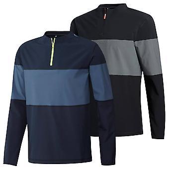 adidas Golf Herren 2020 Leichte Hi-Stretch Schichtung 1/4 Zip Pullover