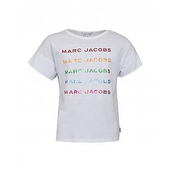 Camiseta Little Marc Jacobs Repeat Logo Sequin