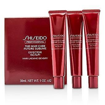 Shiseido Pielęgnacja włosów Future Sublime Effector - Skóra głowy (włosy pozbawione gęstości) 12x30ml/1oz