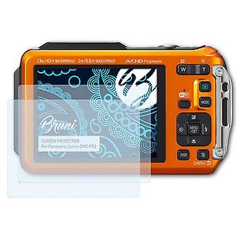 Bruni 2x Screen Protector compatible with Panasonic Lumix DMC-FT5 Protective Film