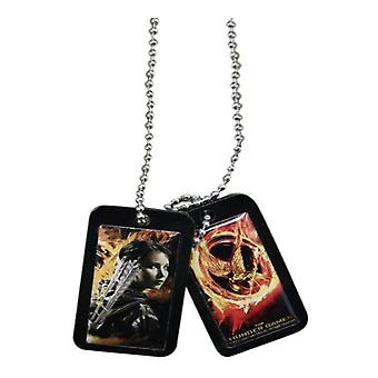 The Hunger Games Dog Tags Katniss