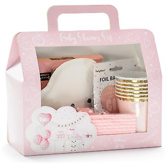 It&s a Girl | Box with Decorations for Baby Shower
