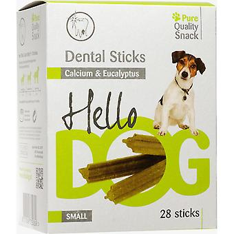 Agrobiothers Small Dentalstick Eucal/Calc 28P 400G Hellodog