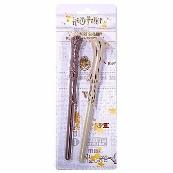Harry Potter Wand Pen & Pencil Set (2 Pieces)