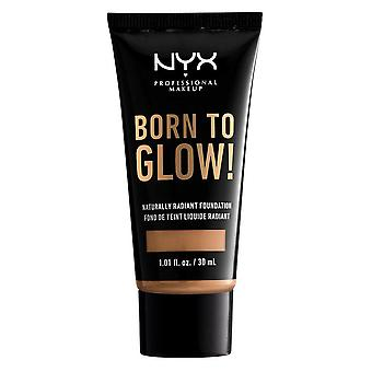 NYX Born To Glow Naturally Radiant Foundation 30ml - Golden Honey