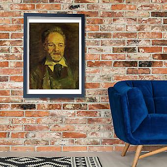 Vincent Van Gogh - Portrait of Pere Tanguy, 1886-87 Poster Print Giclee