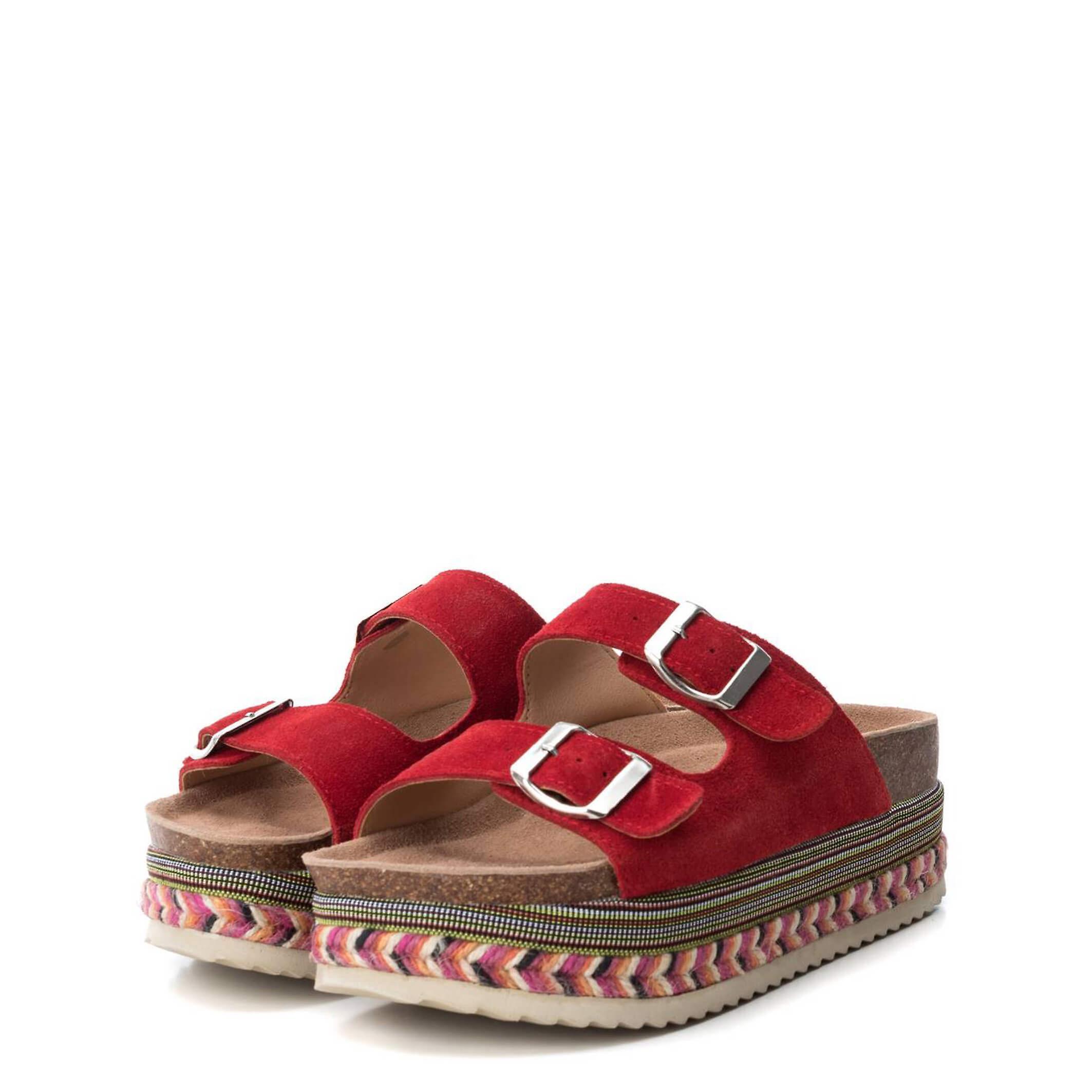 Xti Original Women Spring/Summer Flip Flops - Red Color 40491