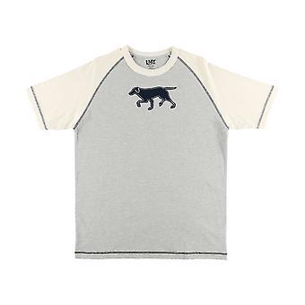 LazyOne Mens Labradors Pyjama T-Shirt