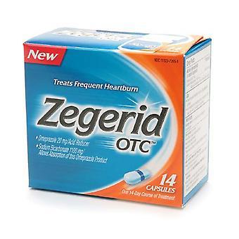 Zegerid OTC närästys Relief, 20 mg, kapselit, 14 EA