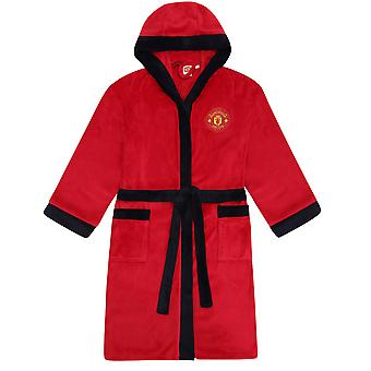 Manchester United FC Official Football Gift Mens Fleece Badjas