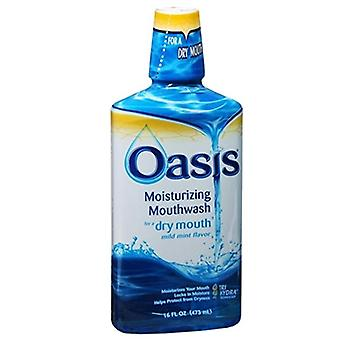 Oasis moisturizing mouthwash for a dry mouth, mild mint, 16 oz