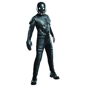 Star Wars Mens Rogue One Deluxe K-2SO Costume