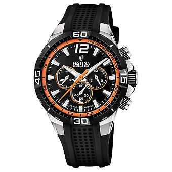 Festina F20523-2 Hombres's Chrono Bike Orange Detail Reloj de pulsera