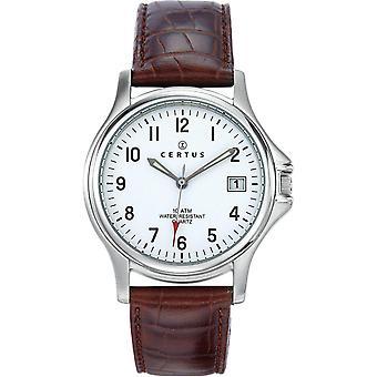 Certus couro REB-610424 - relógio homem