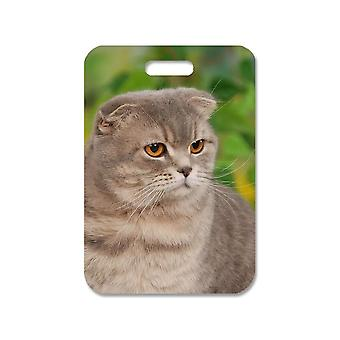 British Shorthair Cat Large Bag Pendant