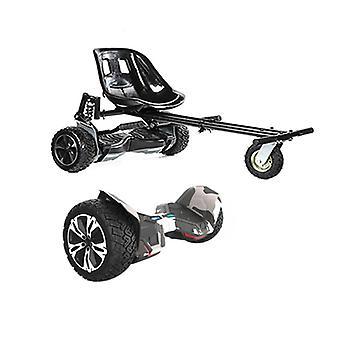 Black Suspension Hoverkart + 8.5? G2 PRO Camo Hummer Bluetooth Segboard , Segway Hoverboard Bundle