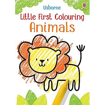 Little First Colouring Animals by Kirsteen Robson - 9781474969215 Book
