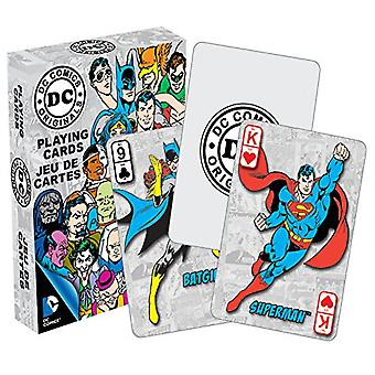 DC Comics Retro Characters Playing Cards