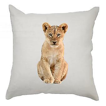 Animal Cushion Cover 40cm x 40cm Lion