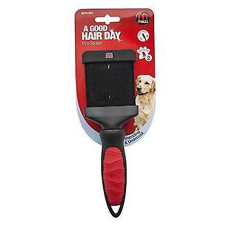 Mikki Pro Slicker Hund Pflege Pinsel