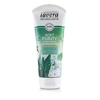 Body wash soft purity (organic algae & organic water mint) 239286 200ml/6.6oz