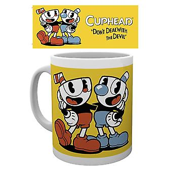 Cuphead Cover Becher