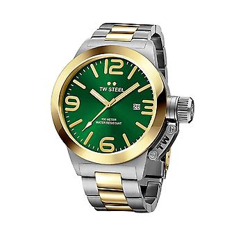 TW Steel CB61 Mens Watch - Zilver / Goud