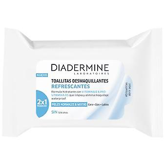 Diadermine Make-up remover wipes 40 units