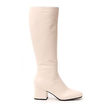 Marni Stms004306p338700w02 Women's White Leather Boots