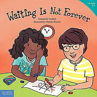 Waiting is Not Forever by Elizabeth Verdick - 9781631984693 Book