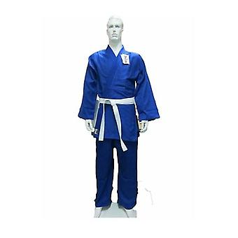 Dragon Blue 550 Gsm Judo Weave Uniform