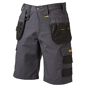 DeWALT Cheverley Grey Rip Stop Holster Pocket Shorts Taille W34