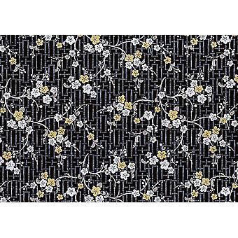 Oriental Blossom Fablon Stationary Crafts Self Adhesive Film 2 m X 45 cm Vinyl
