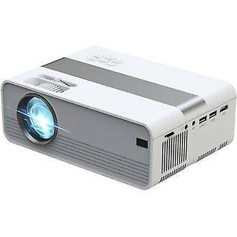 Technaxx العرض TX-127 LCD ANSI التجويف: 2000 lm 1280 x 720 WXGA الأبيض